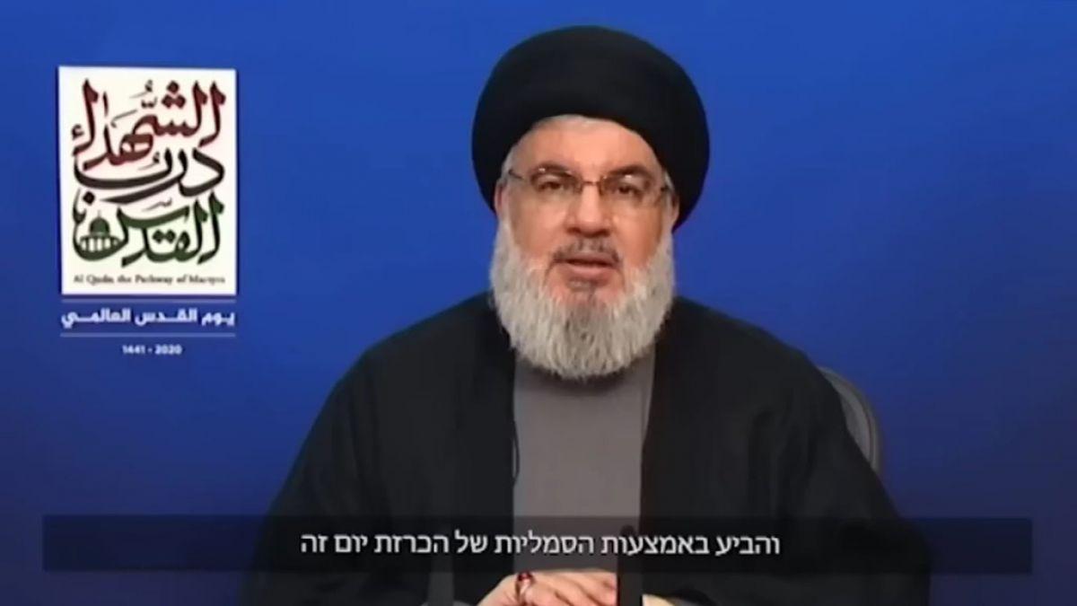 رسالة  السيد حسن نصرالله للأمة والعدو بمناسبة يوم القدس العالمي 20-5-2020