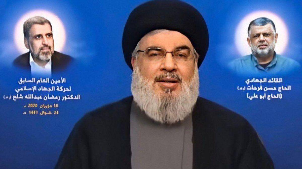 السيد حسن نصرالله: سيبقى السلاح بأيدينا ولن نجوع