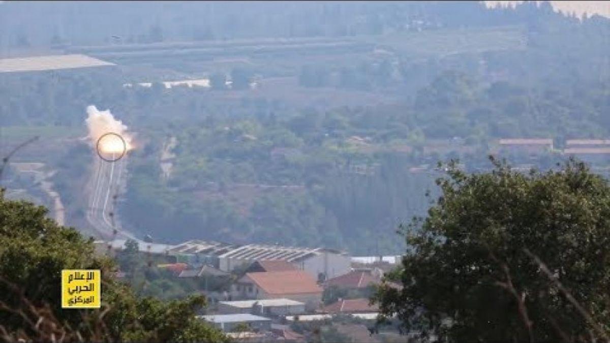 المقاومة الإسلامية تدمر آلية عسكرية إسرائيلية في مستعمرة افيفيم