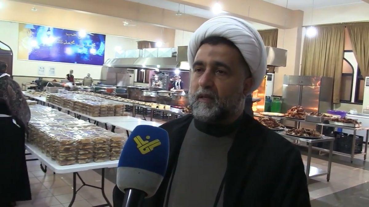 فيديو كلمة الشيخ خليل رزق في مطبخ مائدة الإمام زين العابدين ع 13-5-2020