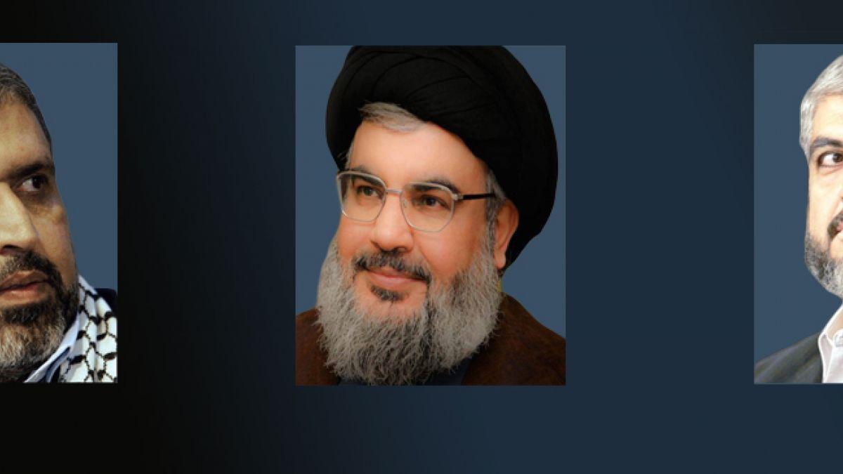 اتصال السيد نصر الله بخالد مشعل وشلح 21-7-2014