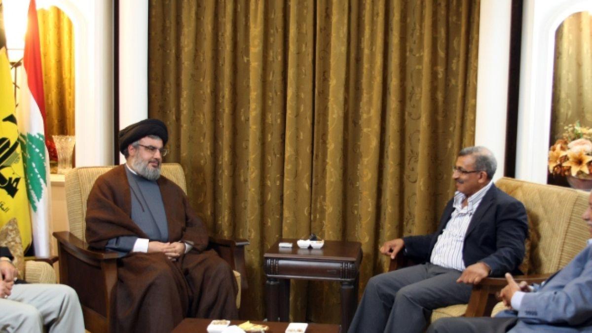 السيد نصر الله وأسامة سعد وحزب الطاشناق 7-8-2010