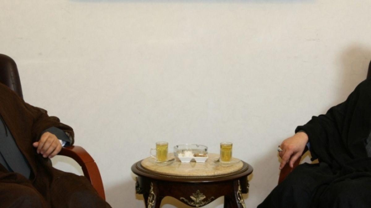 لقاء السيد نصر الله مع الشيخ أحمد قبلان 27-7-2010