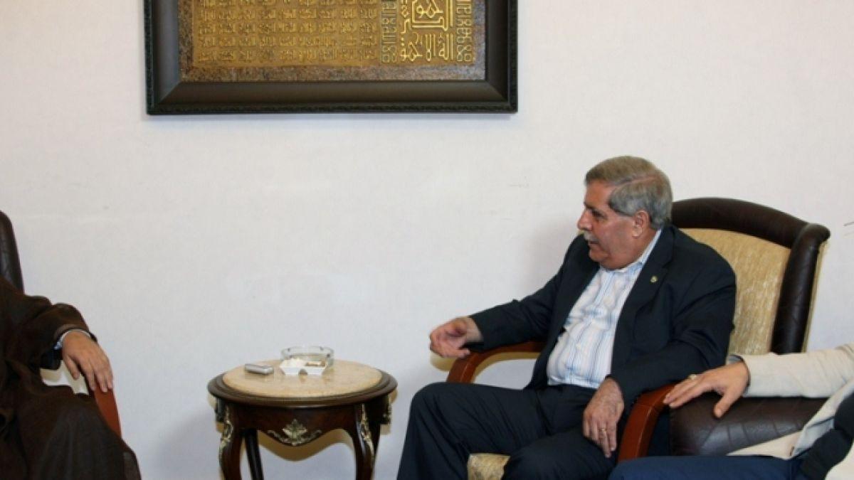 لقاء السيد نصر الله مع النائب السابق فيصل الداوود 27-7-2010
