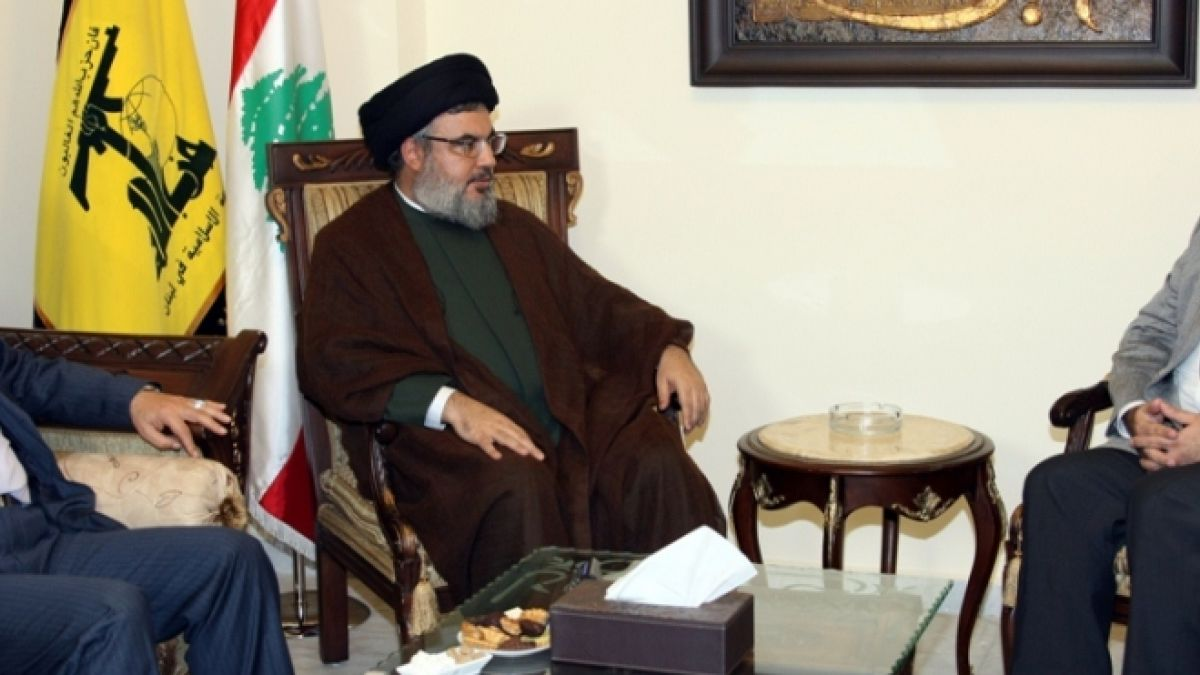 لقاء السيد نصر الله مع الوزير السابق وئام وهاب 24-7-2010