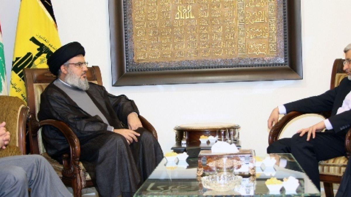 لقاء السيد نصر الله مع السيد سعيد جليلي 7-8-2012
