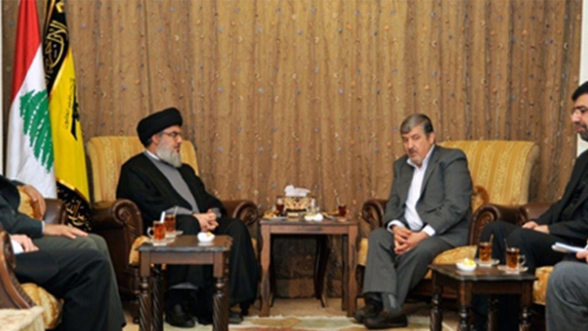 لقاء السيد نصر الله مع منصور حقيقت بور 30-11-2013