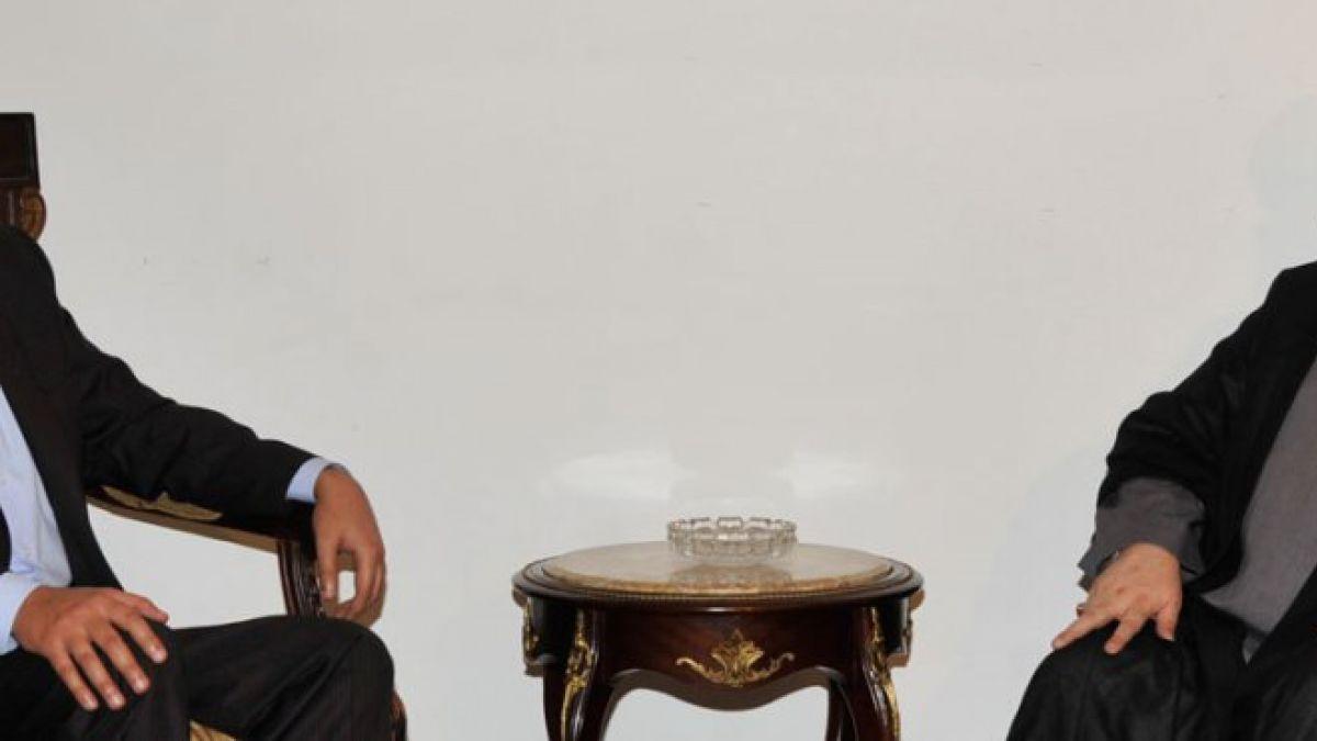 استقبال السيد نصر الله للمير أرسلان 23-9-20124