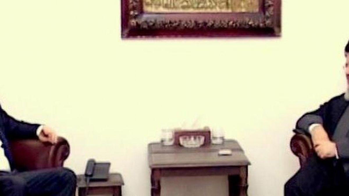 لقاء السيد نصر الله مع سليمان فرنجية 2-8-2014