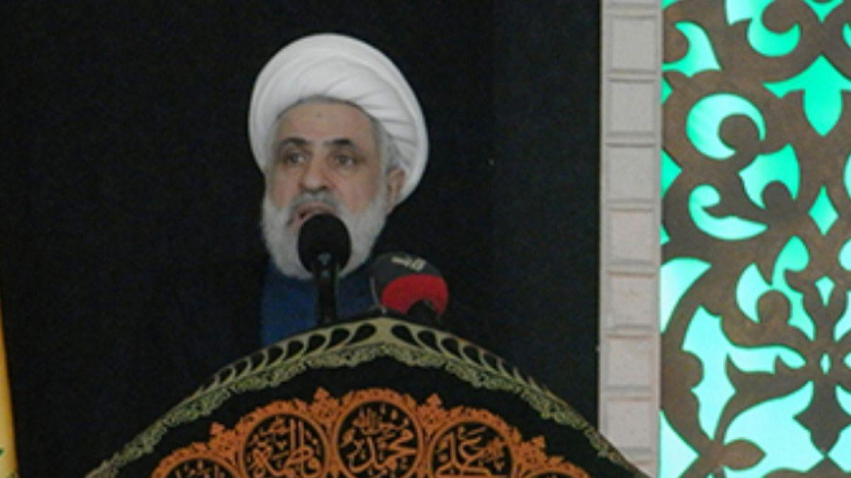 كلمة الشيخ نعيم قاسم في مقام السيدة خولة - بعلبك 1-11-2014