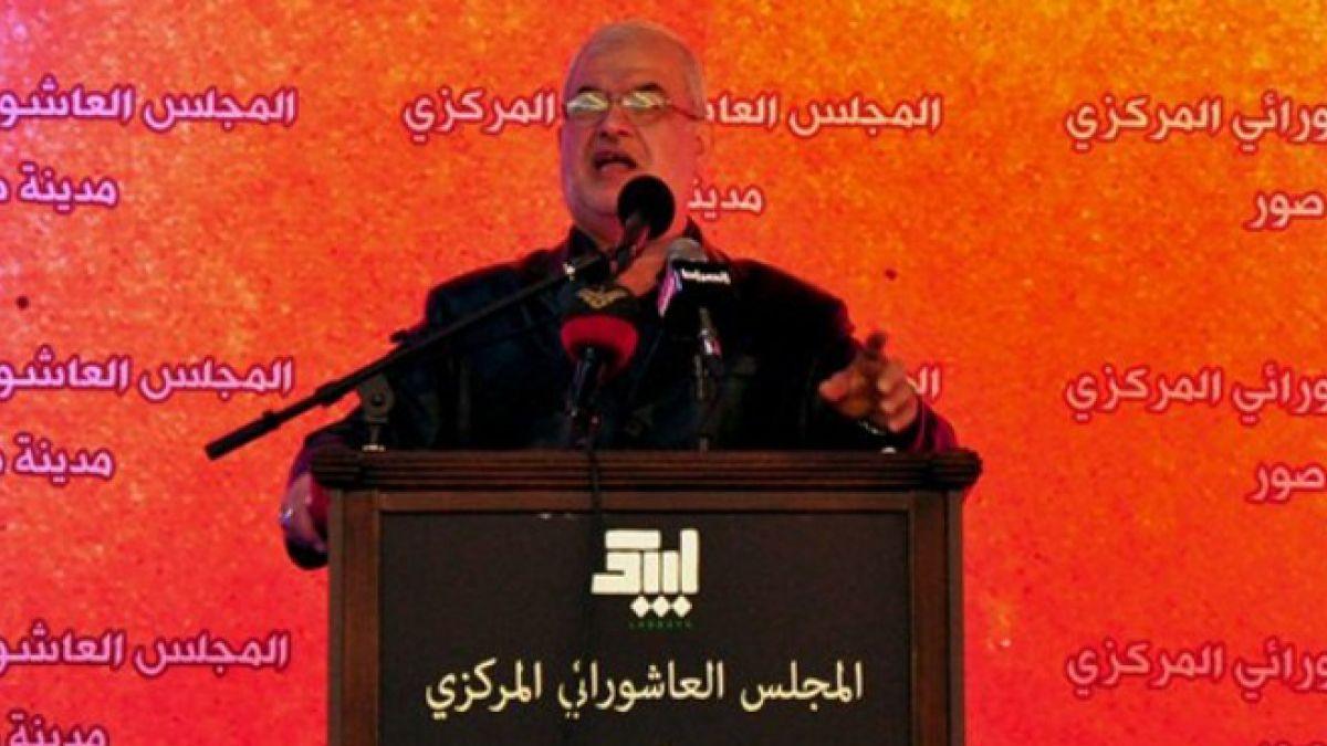 كلمة النائب محمد رعد في مدينة صور 30-10-2014