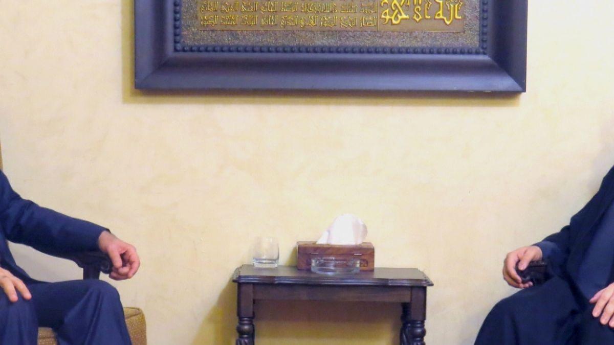 لقاء السيد نصر الله مع نوري المالكي 2-12-2014