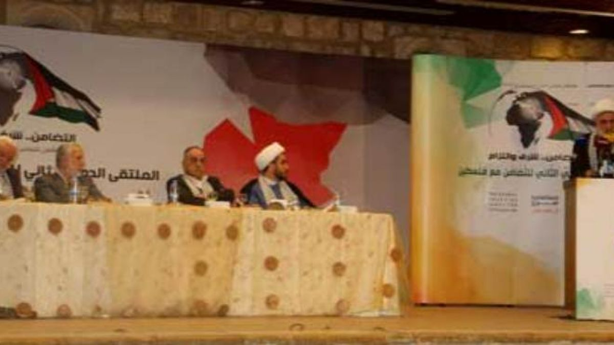 كلمة الشيخ قاسم في ملتقى العودة إلى فلسطين 2-12-2014
