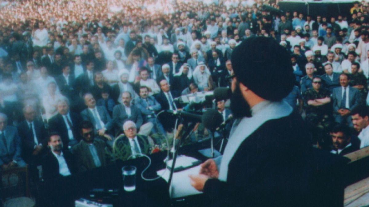 كلمة السيد عباس في ذكرى استشهاد الشيخ راغب 16-2-1991