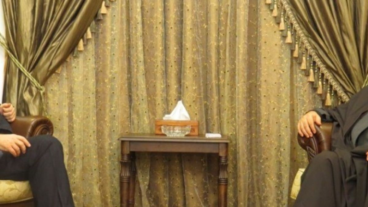 لقاء السيد نصر الله مع ميخائيل بوغدانوف 6-12-2014