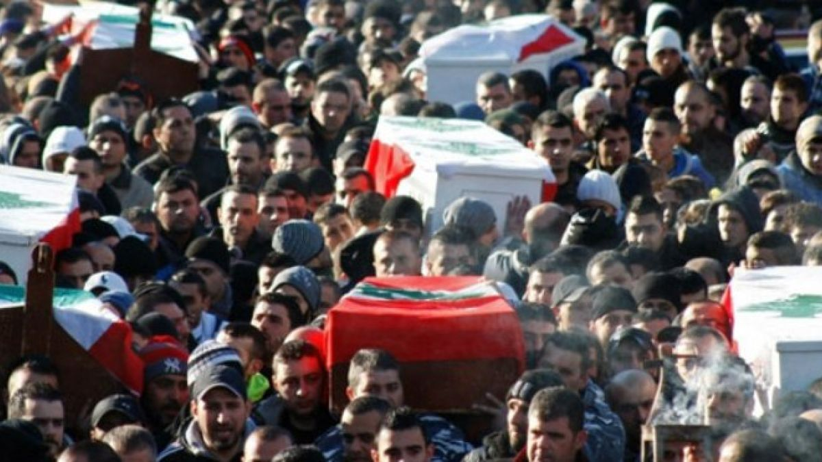 بيان لحزب الله حول التفجير الإرهابي في جبل محسن 10-1-2015