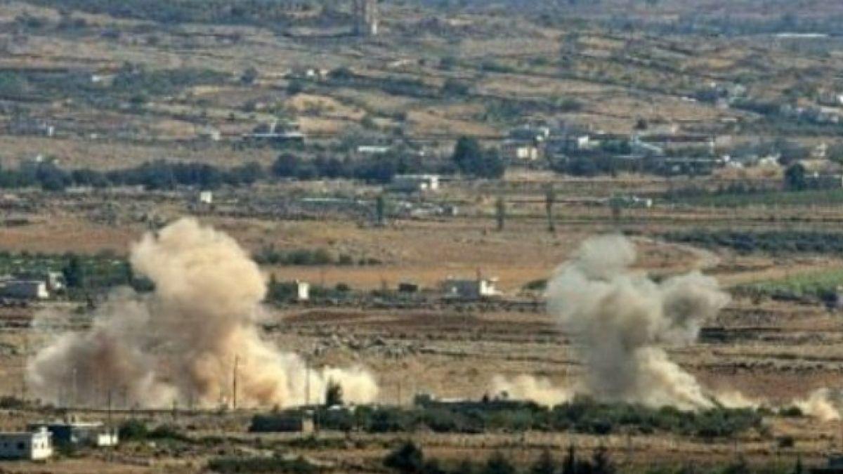 بيان حزب الله عن الوضع في بلدة القنيطرة السورية 18-1-2015