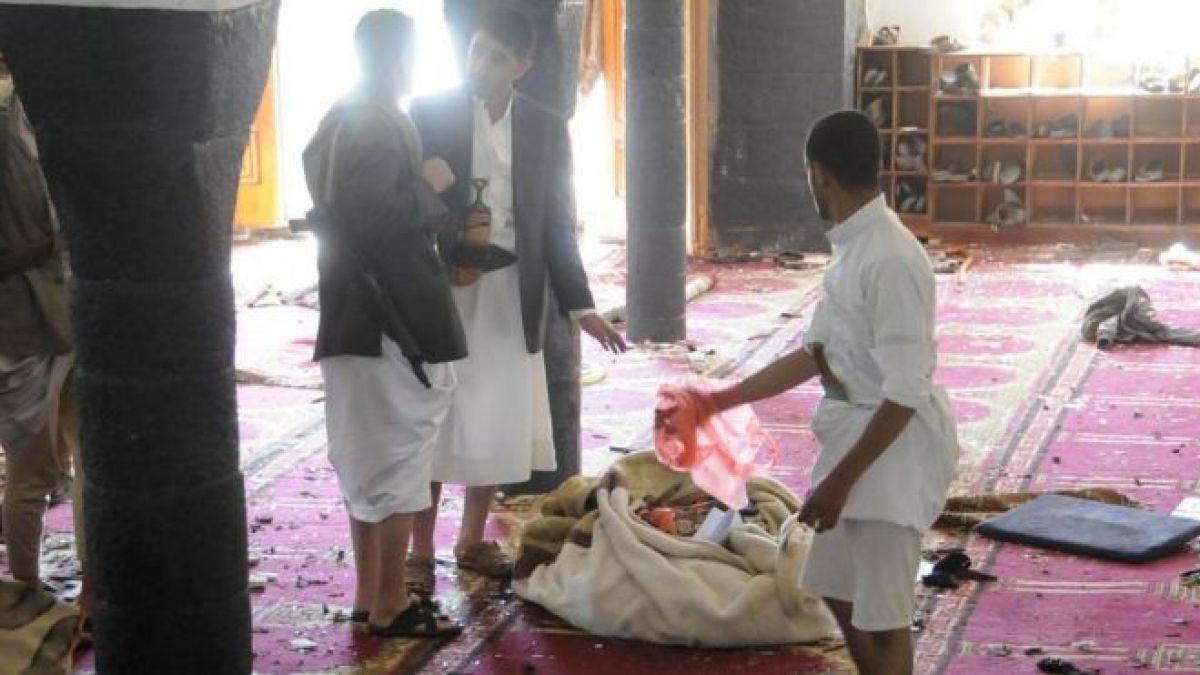 بيان حول التفجيرات الانتحارية التي استهدفت المصلين في اليمن 20-3-2015