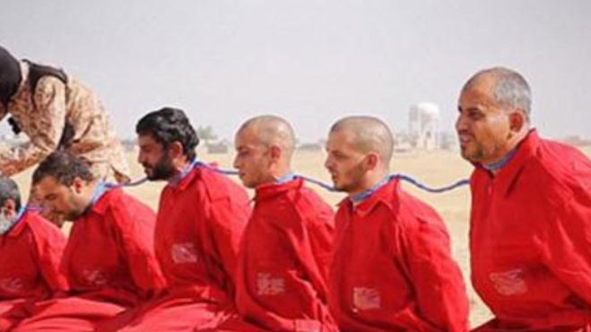 بيان حول الجرائم الفظيعة التي يرتكبها تنظيم داعش الارهابي 24-6-2015