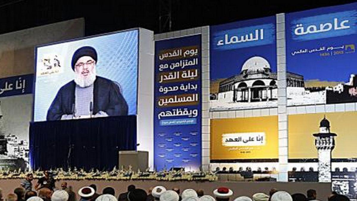كلمة السيد نصرالله في مهرجان يوم القدس العالمي  10-7-2015