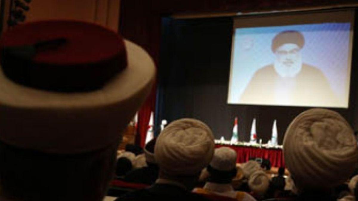 كلمة السيد حسن نصر الله في مؤتمر علماء المقاومة 28-7-2015