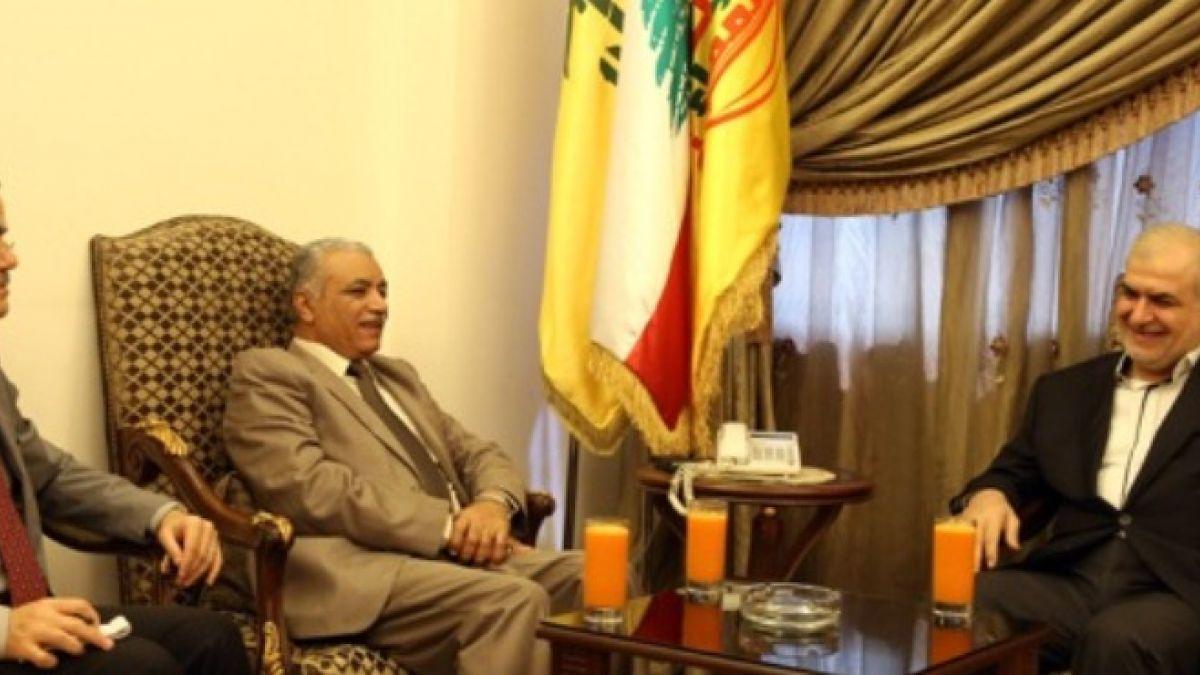 لقاء النائب محمد رعد مع سفير الجمهورية العراقية في لبنان 31-7-2015