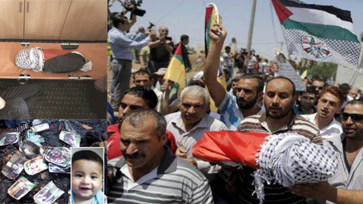 بيان حزب الله حول جريمة حرق الطفل الفلسطيني قرب نابلس 31-7-2015