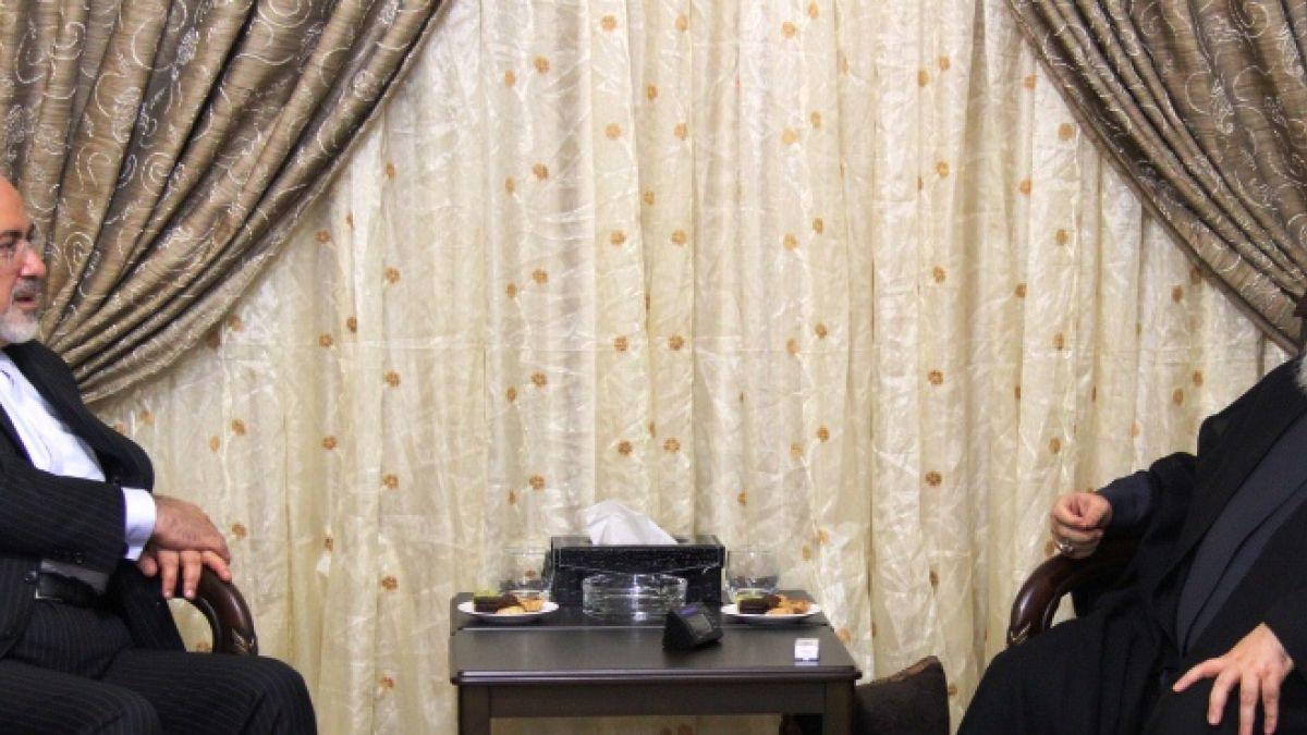 لقاء السيد حسن نصرالله مع مجمد جواد ظريف 12-8-2015