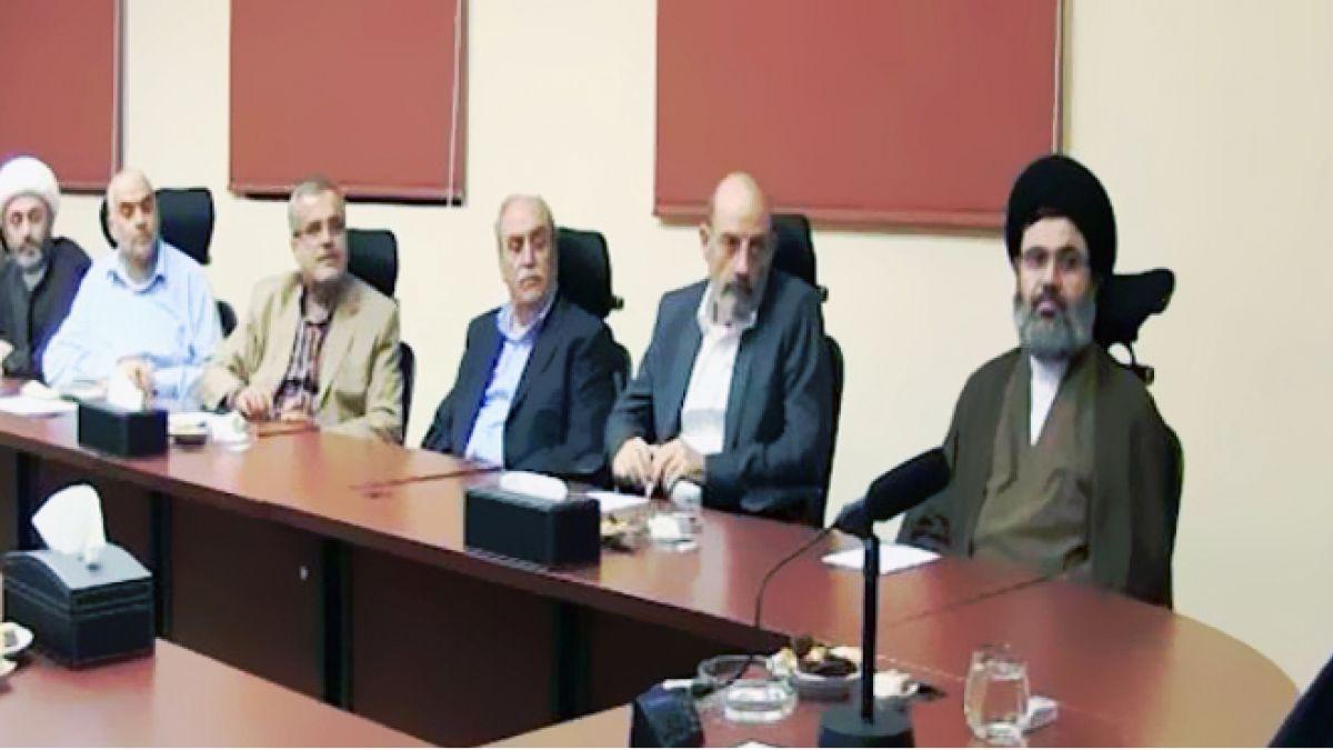 لقاء السيد حسن نصرالله مع وفد جامعة المعارف 19-8-2015