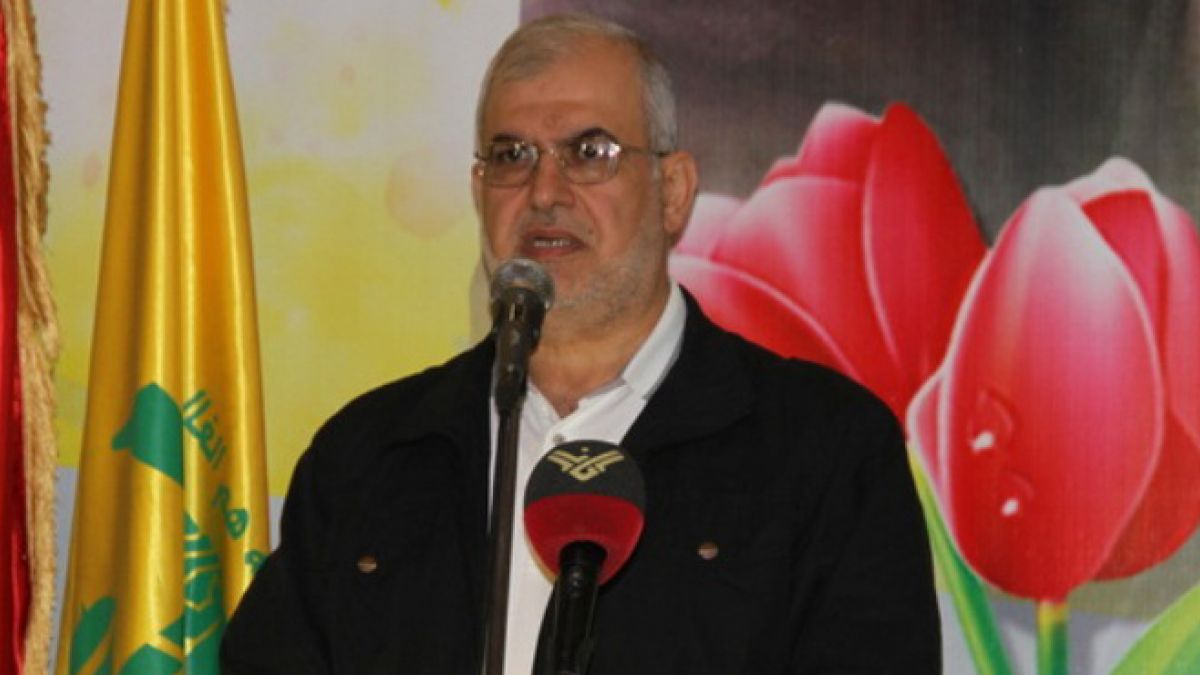 كلمة النائب محمد رعد في الريحان -31-8-2015