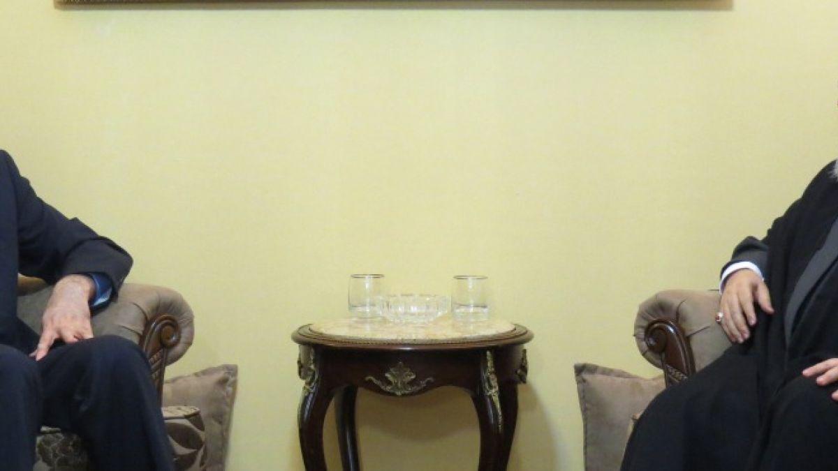 استقبال السيد نصرالله الدكتور حسين أمير عبد اللهيان 3-9-2015