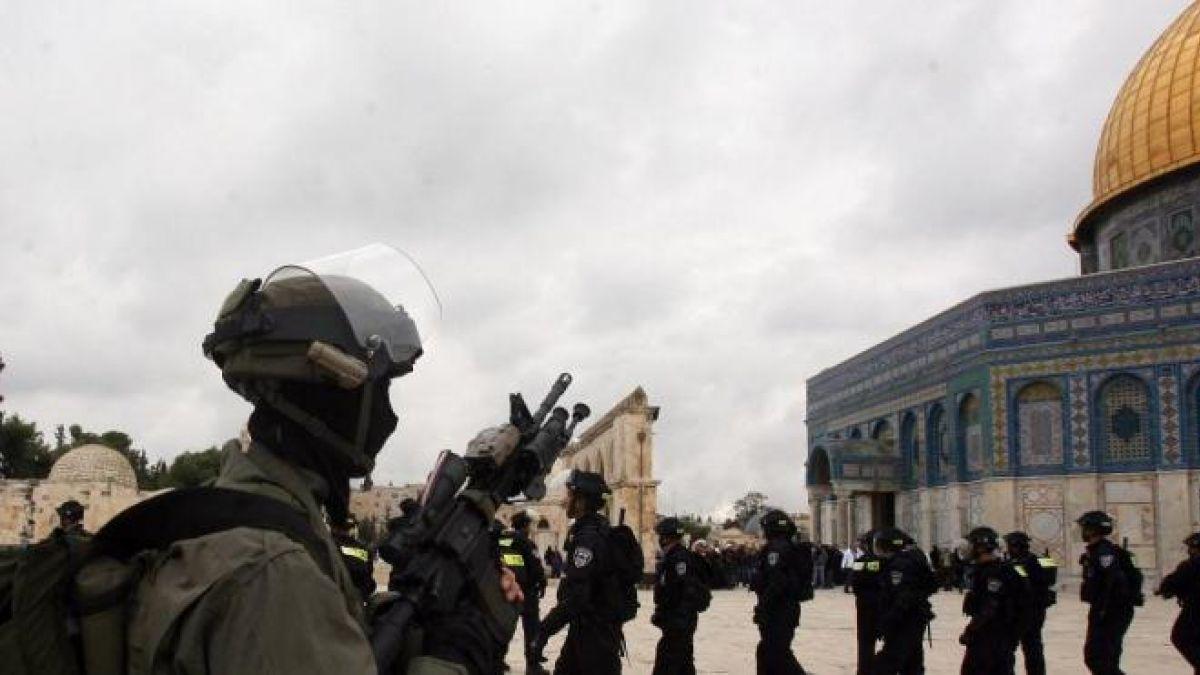 بيان حول الهجمة الصهيونية على المسجد الأقصى 14-9-2015