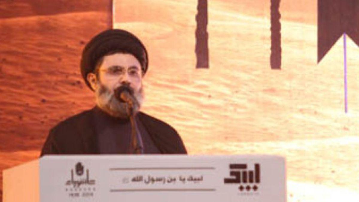 كلمة السيد هاشم صفي الدين في البسطا التحتا 16-10-2015