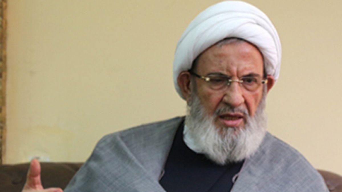 كلمة الشيخ محمد يزبك خلال مسيرة العاشر في بعلبك 24-10-2015