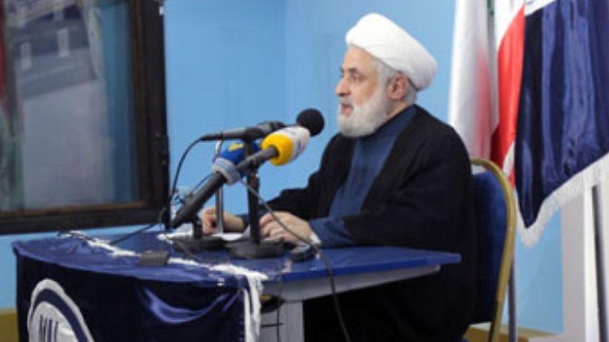 كلمة الشيخ قاسم في جامعة المعارف 20-10-2015