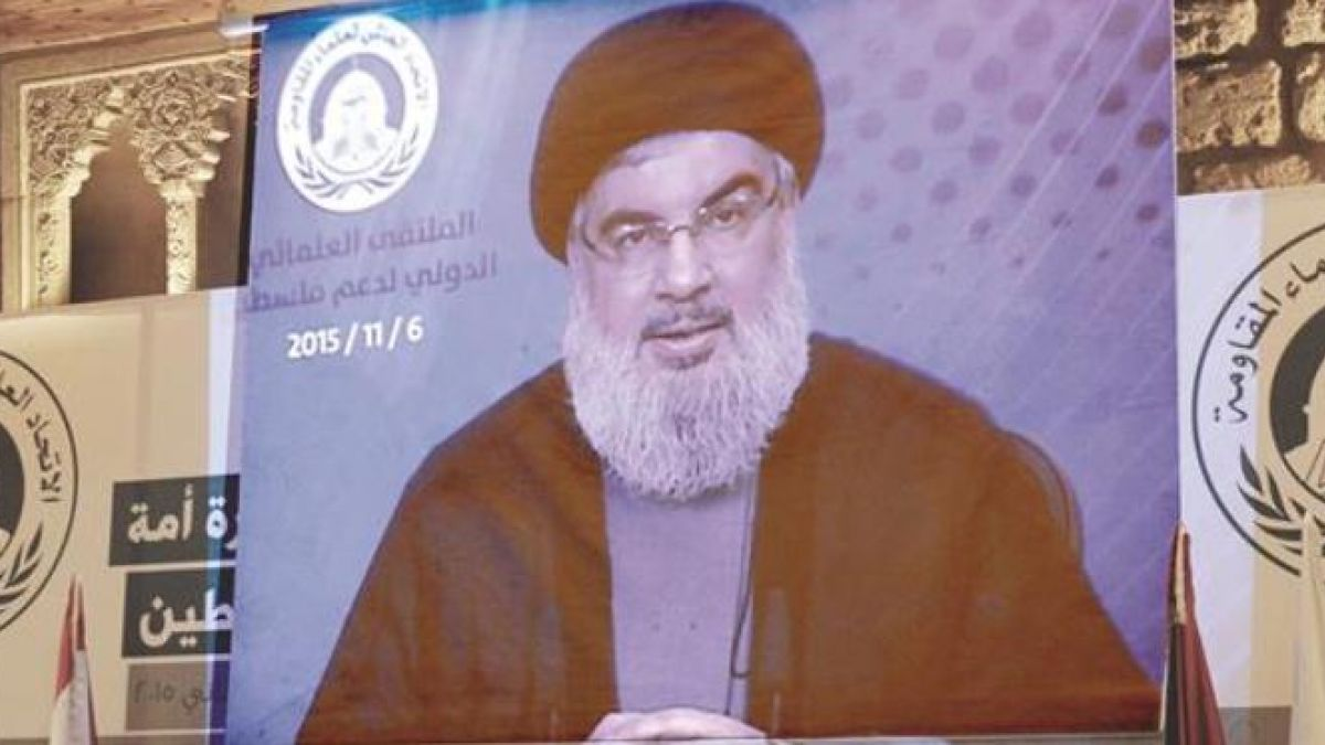 كلمة السيد حسن نصرالله في ملتقى العلماء الدولي لدعم فلسطين 6-11-2015