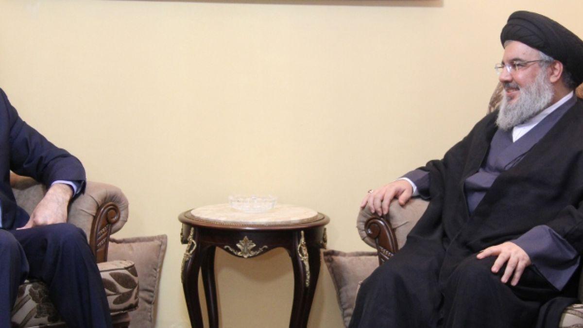 لقاء السيد حسن نصرالله مع أمير عبد اللهيان 12-11-2015