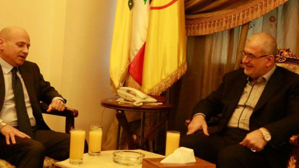 لقاء النائب محمد رعد مع السفير الإيطالي 1-2-2016