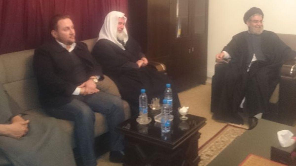 لقاء السيد امين السيد وفداً من العمل الاسلامي 27-1-2016