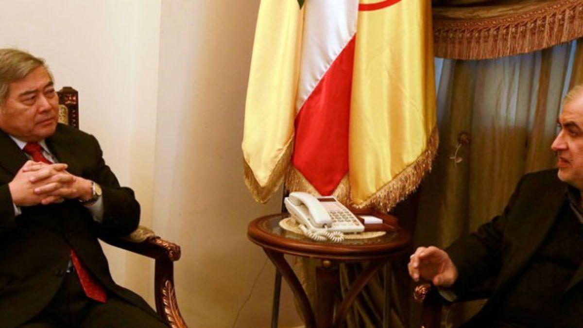 النائب محمد رعد استقبل السفير الياباني 26-1-2016