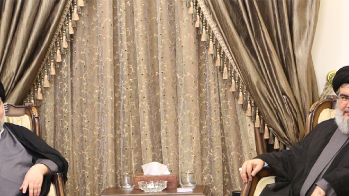 لقاء السيد نصر الله مع السيد الشهرستاني 16-4-2016