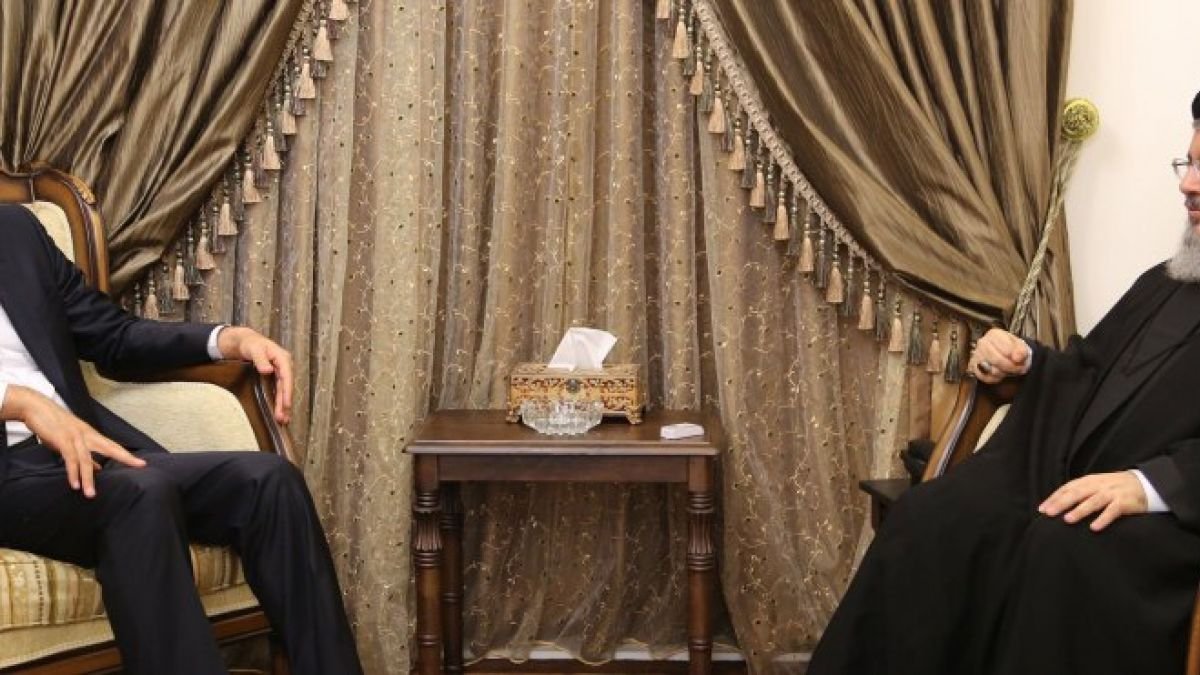 لقاء السيد حسن نصر الله مع معاون وزير الخارجية الإيراني 28-6-2016