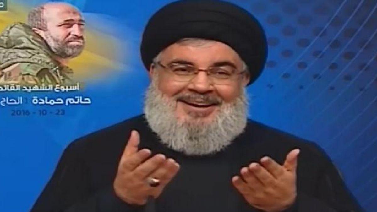 خطاب السيد نصرالله في أسبوع الشهيد القائد حاتم حمادة 23-10-2016