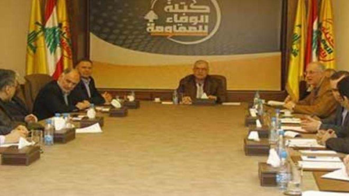 بيان كتلة الوفاء للمقاومة بعد اجتماعها الدوري 22-9-2016