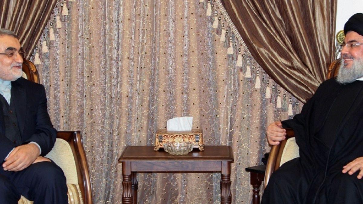 لقاء السيد حسن نصرالله مع علاء الدين بروجردي 7-1-2017