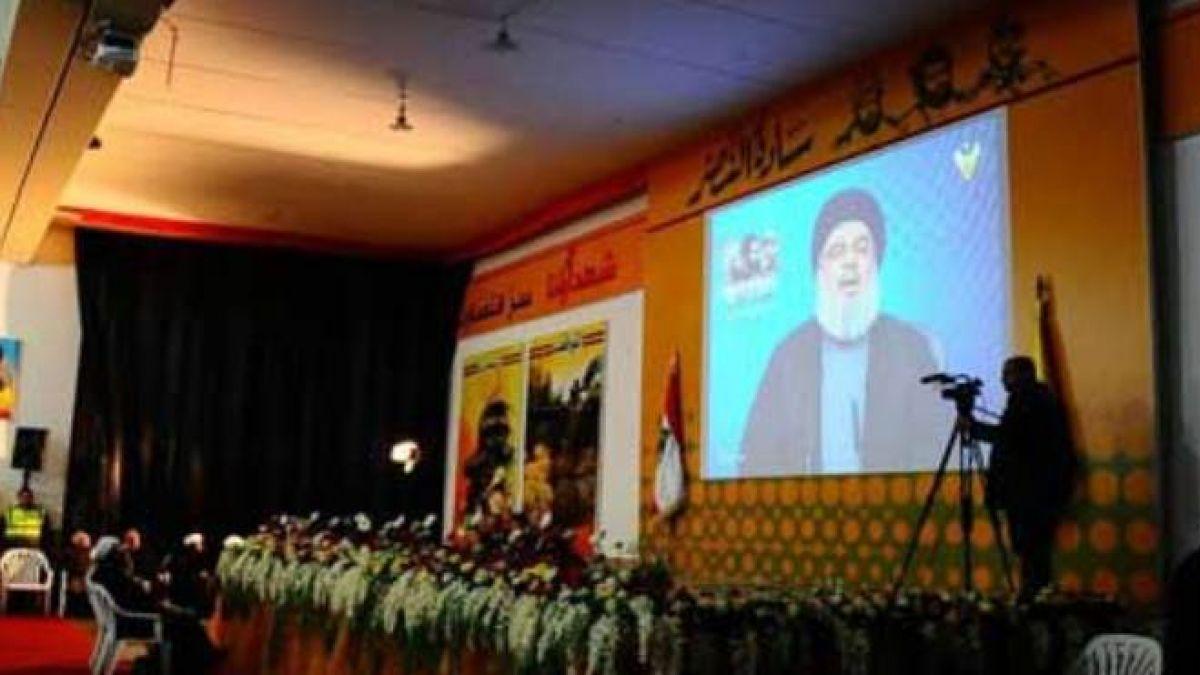 كلمة  السيد حسن نصر الله في احتفال القادة الشهداء 16-2-2017