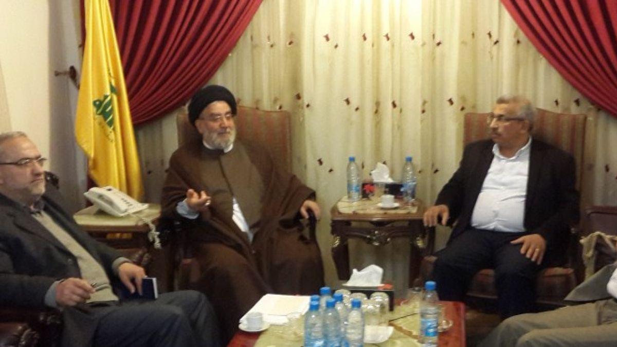 لقاء  السيد ابراهيم امين السيد مع الدكتور اسامة سعد 22-3-2017