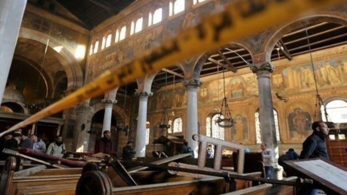 بيان حزب الله  حول تفجير الكنائس في مصر 9-4-2017