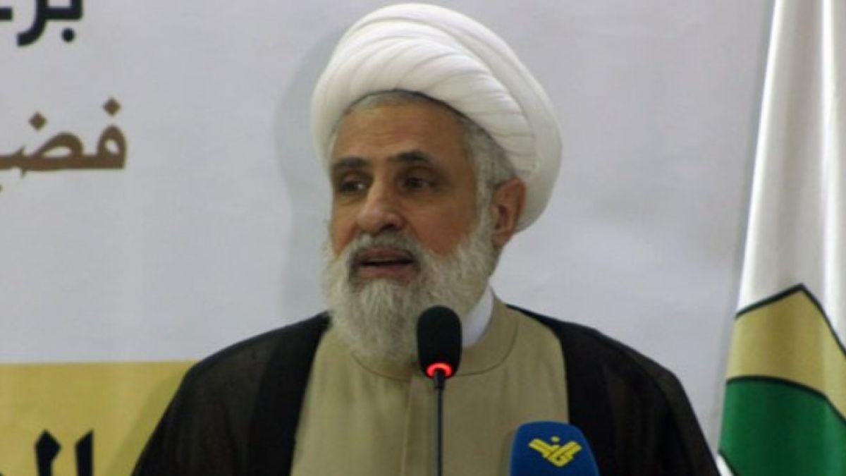 كلمة الشيخ نعيم في مؤسسة جهاد البناء 4-5-2017