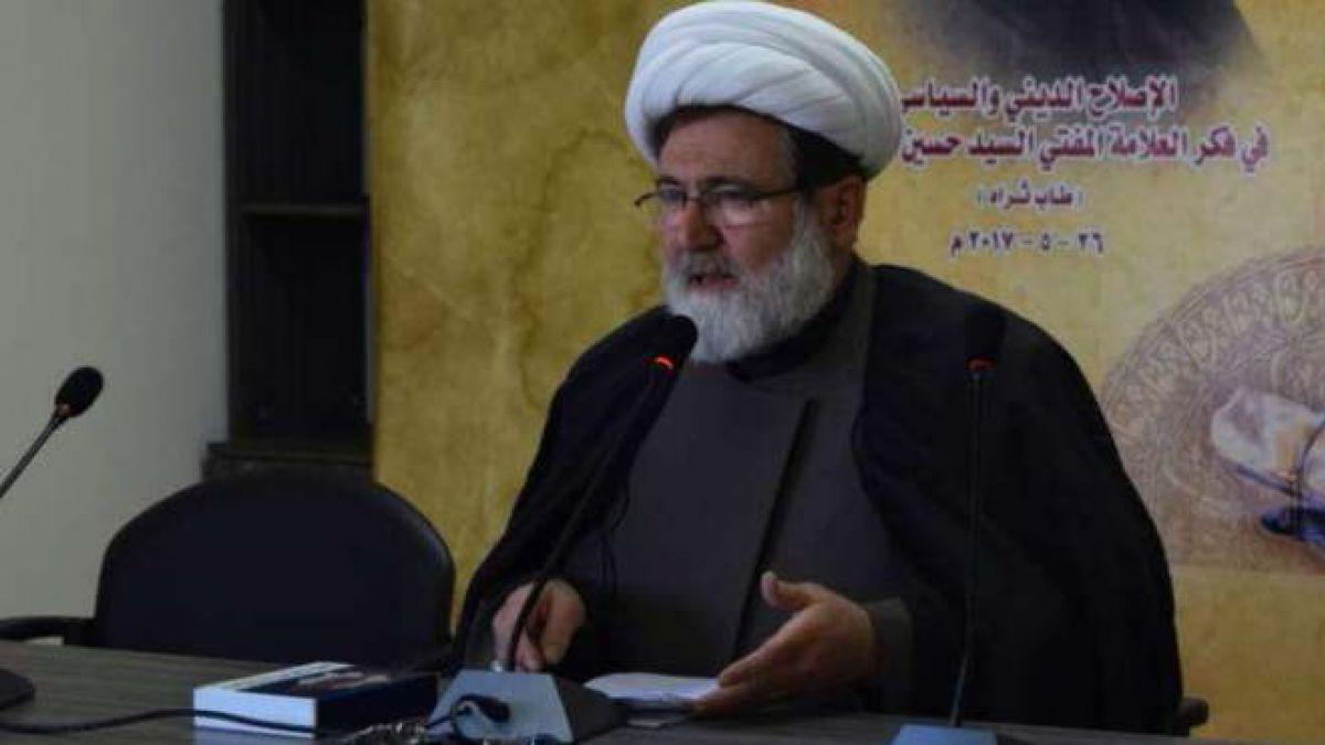 كلمة الشيخ حسن بغدادي في بلدة شمسطار 27-5-2017